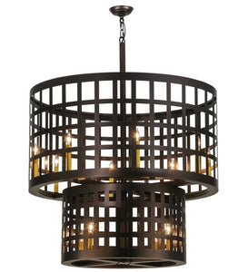 "40""W Cilindro Golpe Industrial Pendant"