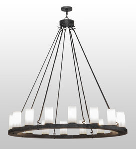 "60""W Deina 16 Lt Lodge Chandelier"