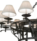 "52""W Ethel 12 Lt Lodge Chandelier"
