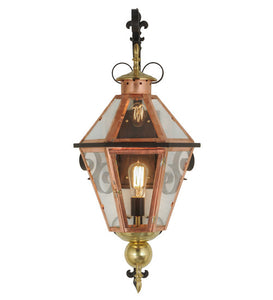 "14""W Millesime Lantern Victorian Outdoor Wall Sconce"
