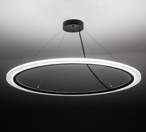 "60""W Anillo Dimmable LED Contemporary Pendant"