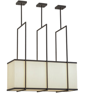 "36""L Quadrato Langedon Contemporary Oblong Pendant"