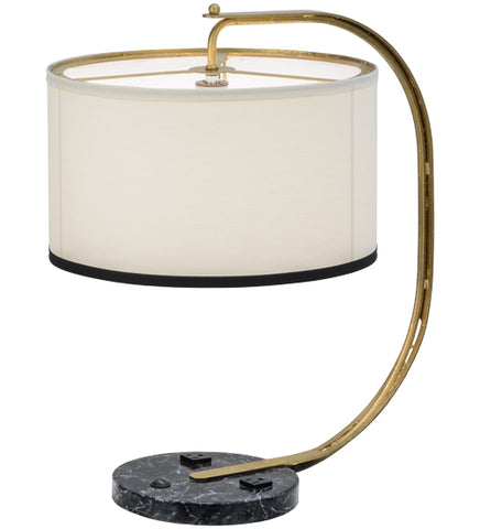 "22""H Cilindro Madrona Modern Desk Lamp"