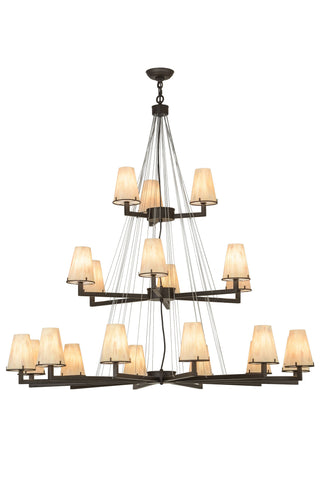 "54""W St. Lawrence 21 Lt LED Chandelier"