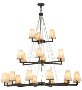 "54""W St. Lawrence 21 Lt LED Nautical Chandelier"