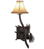 "10""W Lone Pine Right Wall Sconce"