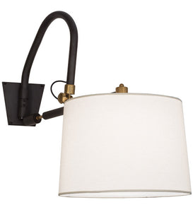 "20""W Stuyvesant Traditional Swing Arm Wall Sconce"