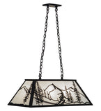 "33""L Alpine Island/Billiard Lodge Pendant"