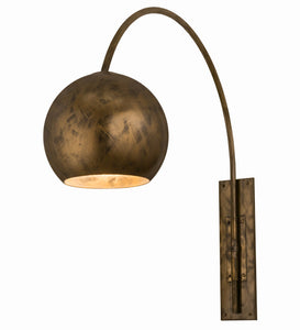 "18""W Contemporary Bola Swing Arm Wall Sconce"