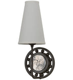 "7.5""W Valdosta Contemporary Fabric Nautical Wall Sconce"