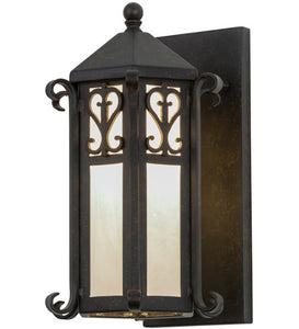 "9""W Caprice Outdoor Wall Sconce"