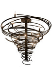 "48""W Cyclone 14 Lt Contemporary Chandelier"