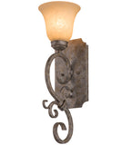 "6""W Thierry 1 Lt Victorian Lodge Wall Sconce"