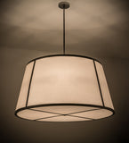 "48""W Cilindro Tapered Traditional Pendant"