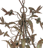 "60""W Le Printemps 15 Lt Floral Chandelier 