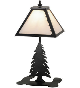 "15""H Leafs Edge Lodge Accent Lamp"