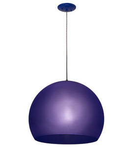 "20""W Bola Play Glam Contemporary Pendant"