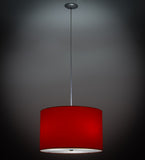 "22""W Cilindro Play Textrene Contemporary Pendant"