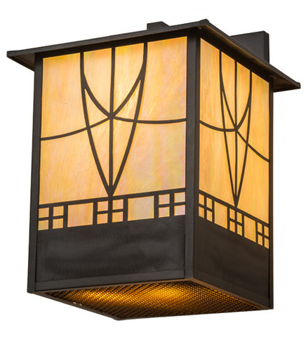"12.5""W Scottsdale Mission Outdoor Wall Sconce"