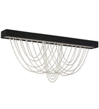 "64""L Hollander Contemporary Glam Flushmount-"