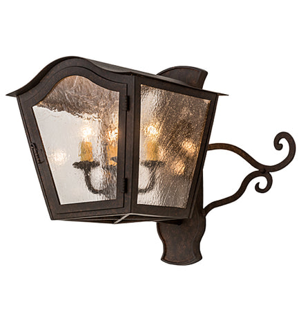 "21.5""W Christian Victorian Wall Sconce"