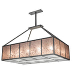 "66""L Kaplan Contemporary Mission Oblong Pendant"