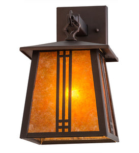 "7""W Prairie Loft Hanging Indoor Outdoor Wall Sconce"