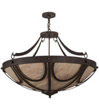 "42""W Carousel Contemporary Inverted Pendant"