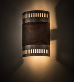 "8""W Elements Contemporary Wall Sconce"