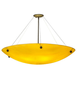 "36""W Cypola Contemporary Inverted Pendant"
