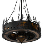 "45""W Tall Pines Wildlife Chandel-Air Fan"