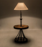 "58""H Achse Rustic Lodge Floor Lamp"