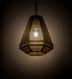 "9""W Nidos Struttura Contemporary Mini Pendant"