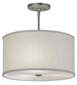 "15""W Cilindro Textrene Modern Pendant"