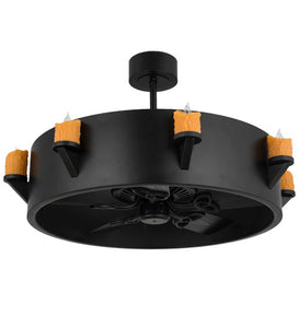 "40""W Kingston 8 Lt Chandel-Air Ceiling Fan"