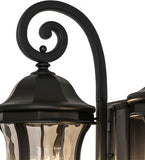 "33""W Monticello 2 Lt Outdoor Wall Sconce"