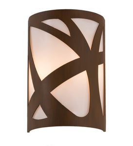 "8""W ADA Mosaic Deco Contemporary Wall Sconce"