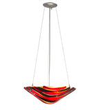 "18""W Metro Fusion Marina Contemporary Inverted Pendant 