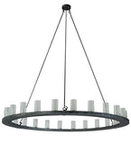 "72""W Loxley 24 Lt Contemporary Chandelier"