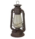 "12""H Miner's Lantern Rustic Lodge Table Lamp"