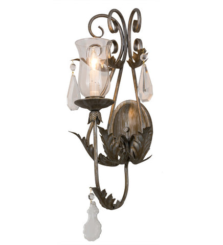 "12""W French Elegance Victorian Wall Sconce"