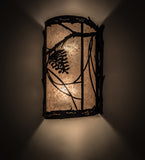 "10""W Whispering Pines Wall Sconce"