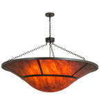 "62""W Vesuvius Contemporary Inverted Pendant"