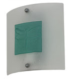 "11""W Metro Fusion Wings Contemporary Wall Sconce"