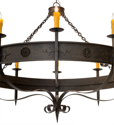 66w calandra 10 lt gothic rustic lodge chandelier custom options 66w calandra 10 lt gothic rustic lodge chandelier aloadofball Image collections