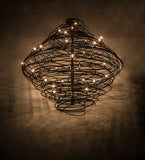 "79""W Cyclone 36 Lt Contemporary Chandelier"