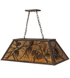 "33""L Whispering Pines Island/Billiard Pendant"