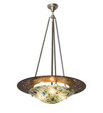 "31""W Metro Fusion Super Nova Contemporary Inverted Pendant"