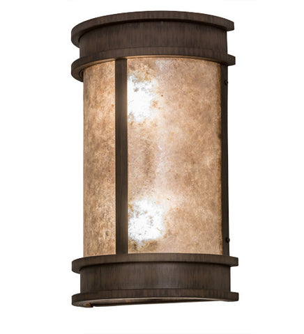 "10""W Wyant Pocket Lantern Mission Wall Sconce"
