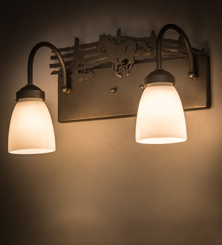 Wildlife Wall Sconces - Smashing Stained Glass & Lighting - Ships ...
